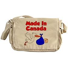 Made In Canada Boy Messenger Bag