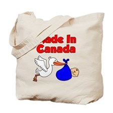 Made In Canada Boy Tote Bag