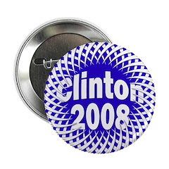 Mesh Clinton 2008 Button