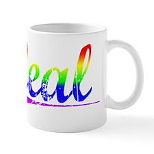 Leal, Rainbow, Mug