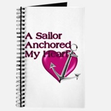 A Sailor Anchored My Heart Journal