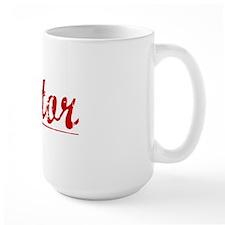 Tutor, Vintage Red Mug
