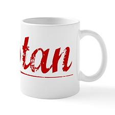 Tristan, Vintage Red Mug