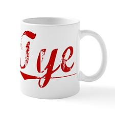 Tye, Vintage Red Mug