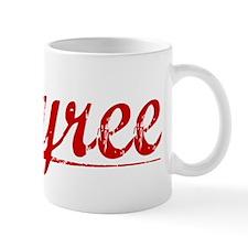 Tyree, Vintage Red Mug