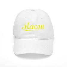 Macon, Yellow Baseball Cap