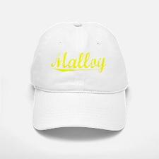 Malloy, Yellow Baseball Baseball Cap