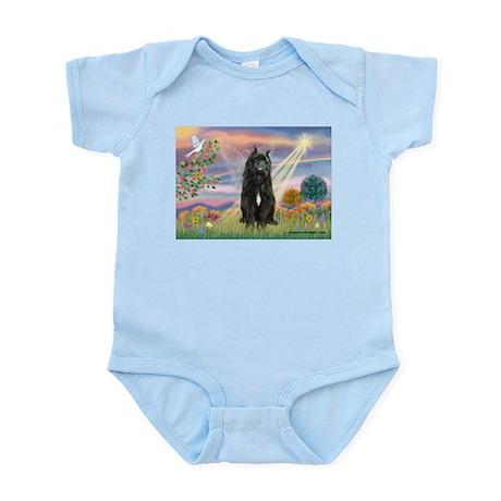 Cloud Angel & Bouvier Infant Bodysuit