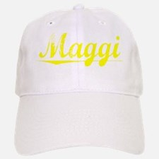 Maggi, Yellow Baseball Baseball Cap