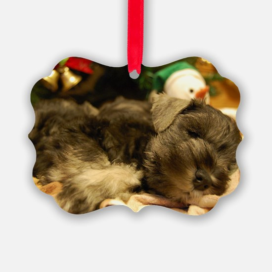 Christmas Snoozing Ornament
