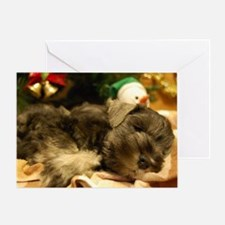 Christmas Snoozing Greeting Card