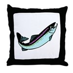 Snook Fish Throw Pillow