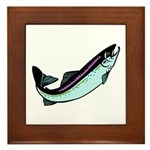 Snook Fish Framed Tile