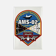 AMS-02 Rectangle Magnet