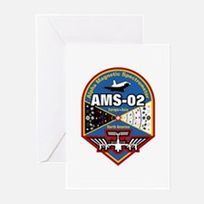 AMS-02 Greeting Cards (Pk of 10)