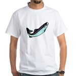 Snook Fish White T-Shirt