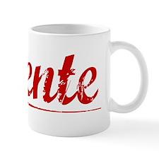 Vicente, Vintage Red Mug