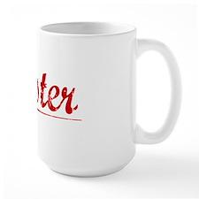 Wester, Vintage Red Mug