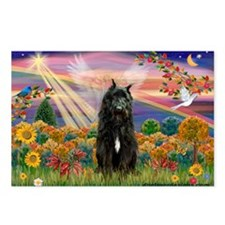 Autumn Angel/Bouvier Postcards (Package of 8)
