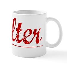Walter, Vintage Red Mug