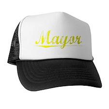 Mayor, Yellow Trucker Hat