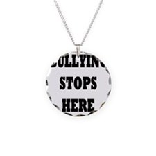 Bullying Stops Here Necklace