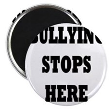 Bullying Stops Here Magnet