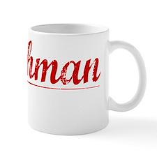 Watchman, Vintage Red Mug