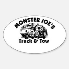 Monster Joe's Truck and Tow Decal