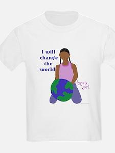 Brown Girl Kids T-Shirt