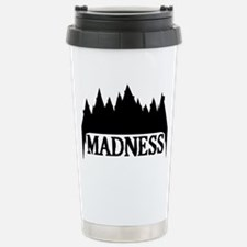 At The Mountains Of Mad Stainless Steel Travel Mug