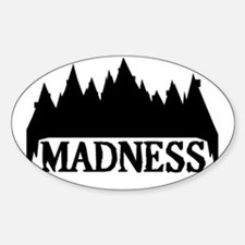 At The Mountains Of Madness Sticker (Oval)