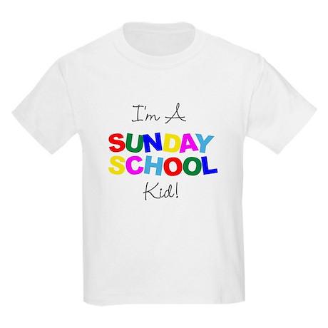 """I'm a Sunday School Kid!"" Kids T-Shirt"