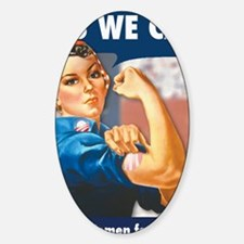 Rosie for Obama Decal