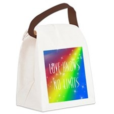 Love Knows No Limits Canvas Lunch Bag