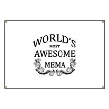 World's Most Awesome Mema Banner