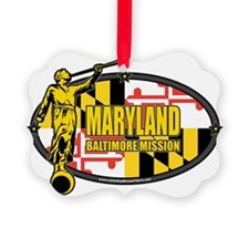 Maryland Baltimore LDS Mission Cl Ornament
