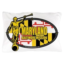 Maryland Baltimore LDS Mission Clothin Pillow Case