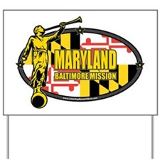 Maryland Baltimore LDS Mission Clothing, Yard Sign
