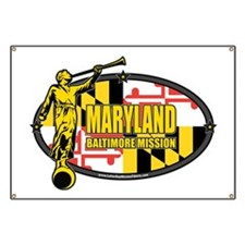 Maryland Baltimore LDS Mission Clothing, t- Banner