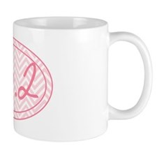 26.2 Pink Chevron Mug
