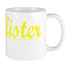 Mcallister, Yellow Small Mug