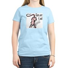 Rats are Cool - Women's Pink T-Shirt