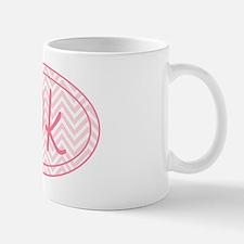 10k Pink Chevron Mug