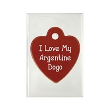 Love My Dogo Rectangle Magnet (100 pack)
