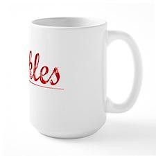 Winkles, Vintage Red Mug