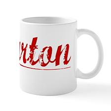 Wharton, Vintage Red Mug