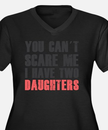 I have two d Women's Plus Size Dark V-Neck T-Shirt