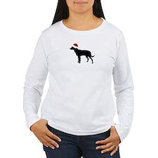 """Kelpie """"Santa Hat"""" T-Shirt"""