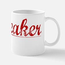Whiteaker, Vintage Red Mug